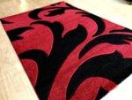 релефен килим съни   1446 червен
